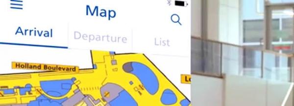 Schiphol app smartphone